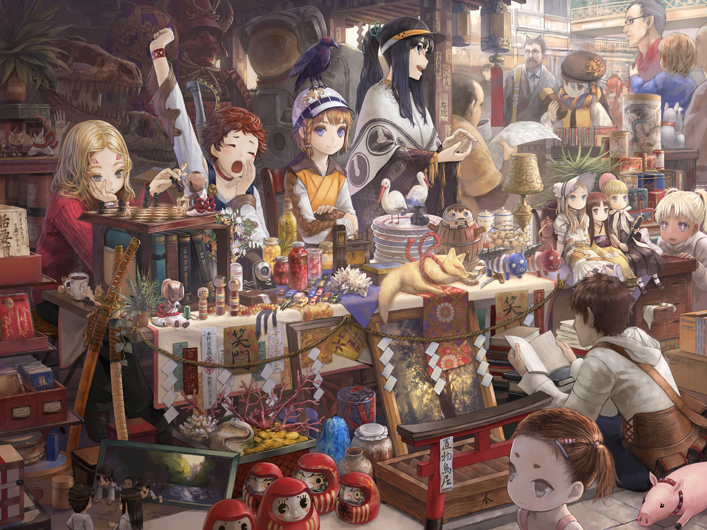 Anime Market Wallpaper__yvt2